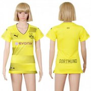 Wholesale Cheap Women's Dortmund Blank Home Soccer Club Jersey