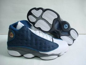 Wholesale Cheap Air jordan 13 Retro Shoes Blue/White