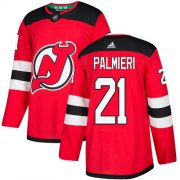 Wholesale Cheap Adidas Devils #21 Kyle Palmieri Red Home Authentic Stitched NHL Jersey