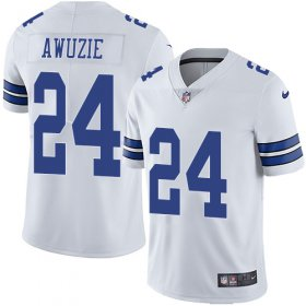 Wholesale Cheap Nike Cowboys #24 Chidobe Awuzie White Men\'s Stitched NFL Vapor Untouchable Limited Jersey