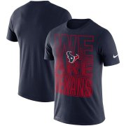 Wholesale Cheap Houston Texans Nike Local Verbiage Performance T-Shirt Navy