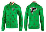Wholesale Cheap NFL Atlanta Falcons Team Logo Jacket Green