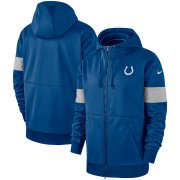 Wholesale Cheap Indianapolis Colts Nike Sideline Performance Full-Zip Hoodie Royal