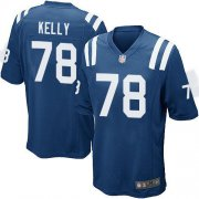 Wholesale Cheap Nike Colts #78 Ryan Kelly Royal Blue Team Color Youth Stitched NFL Elite Jersey