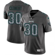 Wholesale Cheap Nike Eagles #30 Corey Clement Gray Static Men's Stitched NFL Vapor Untouchable Limited Jersey