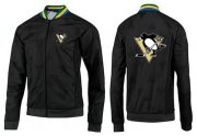 Wholesale Cheap NHL Pittsburgh Penguins Zip Jackets Black-4