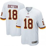 Wholesale Nike Redskins #18 Josh Doctson White Youth Stitched NFL Elite Jersey