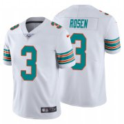 Wholesale Cheap Nike Dolphins #3 Josh Rosen White Alternate Men's Stitched NFL 100th Season Vapor Untouchable Limited Jersey