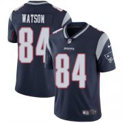 Wholesale Cheap Nike Patriots #84 Benjamin Watson Navy Blue Team Color Men's Stitched NFL Vapor Untouchable Limited Jersey