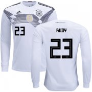 Wholesale Cheap Germany #23 Rudy Home Long Sleeves Kid Soccer Country Jersey