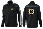 Wholesale Cheap NHL Boston Bruins Zip Jackets Black-2