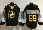 Wholesale Cheap Blackhawks #88 Patrick Kane Black 2016 All-Star NHL Hoodie
