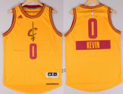 Wholesale Cheap Cleveland Cavaliers #0 Kevin Love Revolution 30 Swingman 2014 Christmas Day Yellow Jersey