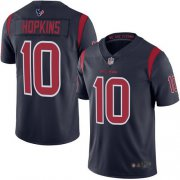 Wholesale Cheap Nike Texans #10 DeAndre Hopkins Navy Blue Men's Stitched NFL Limited Rush Jersey