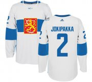 Wholesale Cheap Finland Blank Home Soccer Country Jersey