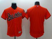Wholesale Cheap Orioles Blank Orange Flexbase Authentic Collection Stitched MLB Jersey