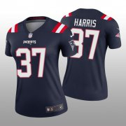 Wholesale Cheap Women's New England Patriots #37 Damien Harris White Legend Jersey
