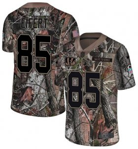Wholesale Cheap Nike Bengals #85 Tyler Eifert Camo Men\'s Stitched NFL Limited Rush Realtree Jersey