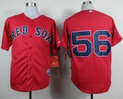 Wholesale Cheap Red Sox #56 Joe Kelly Red Cool Base Stitched MLB Jersey