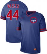 Wholesale Cheap Nike Cubs #44 Anthony Rizzo Royal Authentic Cooperstown Collection Stitched MLB Jersey