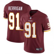 Wholesale Cheap Nike Redskins #91 Ryan Kerrigan Burgundy Red Team Color Youth Stitched NFL Vapor Untouchable Limited Jersey