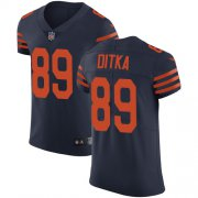Wholesale Cheap Nike Bears #89 Mike Ditka Navy Blue Alternate Men's Stitched NFL Vapor Untouchable Elite Jersey