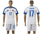Wholesale Cheap Slovakia #17 Hamsik Home Soccer Country Jersey