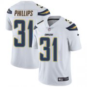 Wholesale Cheap Nike Chargers #31 Adrian Phillips White Youth Stitched NFL Vapor Untouchable Limited Jersey
