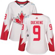 Wholesale Cheap Team Canada #9 Matt Duchene White 2016 World Cup Women's Stitched NHL Jersey