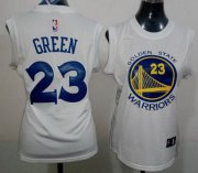 Wholesale Cheap Women's Golden State Warriors #23 Draymond Green 2014 New White Jersey