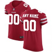 Wholesale Cheap Nike San Francisco 49ers Customized Red Stitched Vapor Untouchable Elite Men's NFL Jersey