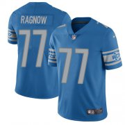 Wholesale Cheap Nike Lions #77 Frank Ragnow Light Blue Team Color Youth Stitched NFL Vapor Untouchable Limited Jersey