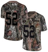 Wholesale Cheap Nike 49ers #52 Patrick Willis Camo Youth Stitched NFL Limited Rush Realtree Jersey