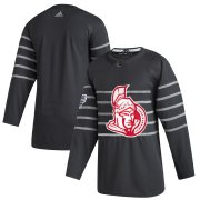 Wholesale Cheap Men's Ottawa Senators Adidas Gray 2020 NHL All-Star Game Authentic Jersey