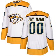 Wholesale Cheap Men's Adidas Predators Personalized Authentic White Road NHL Jersey