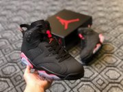 Wholesale Cheap Air Jordan 6 Customs 3M Black/Red