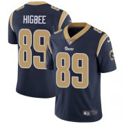 Wholesale Cheap Nike Rams #89 Tyler Higbee Navy Blue Team Color Youth Stitched NFL Vapor Untouchable Limited Jersey