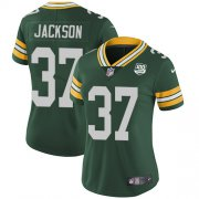 Wholesale Cheap Nike Packers #37 Josh Jackson Green Team Color Women's 100th Season Stitched NFL Vapor Untouchable Limited Jersey