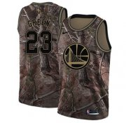 Wholesale Cheap Nike Golden State Warriors #23 Draymond Green Camo NBA Swingman Realtree Collection Jersey