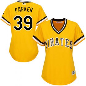 Wholesale Cheap Pirates #39 Dave Parker Gold Alternate Women\'s Stitched MLB Jersey