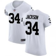 Wholesale Cheap Nike Raiders #34 Bo Jackson White Men's Stitched NFL Vapor Untouchable Elite Jersey
