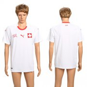 Wholesale Cheap Switzerland Blank Away Soccer Country Jersey