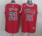 Wholesale Cheap Chicago Bulls #21 Jimmy Butler Revolution 30 Swingman 2014 New Red Jersey
