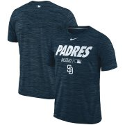 Wholesale Cheap San Diego Padres Nike Authentic Collection Velocity Team Issue Performance T-Shirt Navy