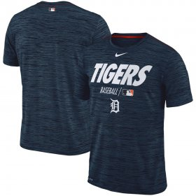 Wholesale Cheap Detroit Tigers Nike Authentic Collection Velocity Team Issue Performance T-Shirt Navy