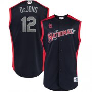Wholesale Cheap Cardinals #12 Paul DeJong Navy 2019 All-Star National League Stitched MLB Jersey