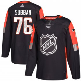 Wholesale Cheap Adidas Predators #76 P.K Subban Black 2018 All-Star Central Division Authentic Stitched Youth NHL Jersey