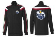 Wholesale Cheap NHL Edmonton Oilers Zip Jackets Black-2