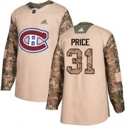 Wholesale Cheap Adidas Canadiens #31 Carey Price Camo Authentic 2017 Veterans Day Stitched Youth NHL Jersey