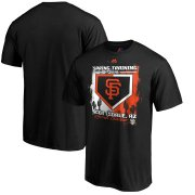 Wholesale Cheap San Francisco Giants Majestic 2019 Spring Training Cactus League Base on Ball Big & Tall T-Shirt Black